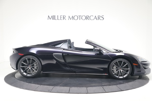 Used 2019 McLaren 570S Spider Convertible for sale $189,900 at Rolls-Royce Motor Cars Greenwich in Greenwich CT 06830 6