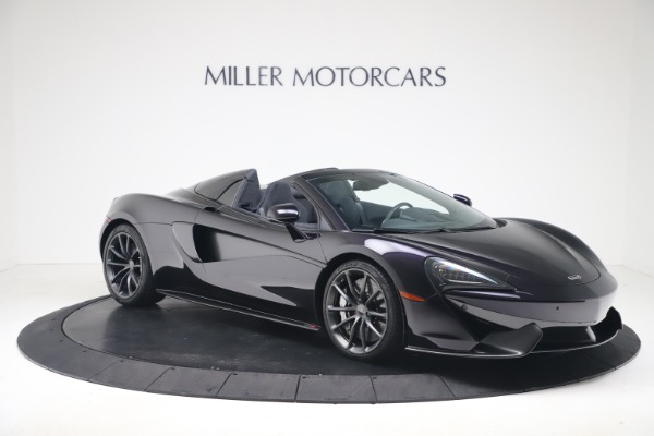 Used 2019 McLaren 570S Spider Convertible for sale $189,900 at Rolls-Royce Motor Cars Greenwich in Greenwich CT 06830 7