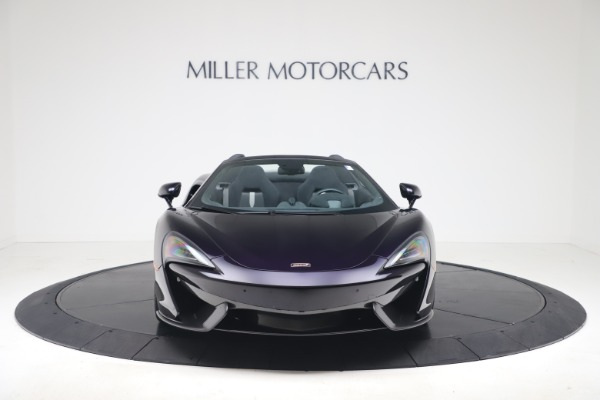 Used 2019 McLaren 570S Spider Convertible for sale $189,900 at Rolls-Royce Motor Cars Greenwich in Greenwich CT 06830 8