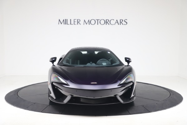 Used 2019 McLaren 570S Spider Convertible for sale $189,900 at Rolls-Royce Motor Cars Greenwich in Greenwich CT 06830 9