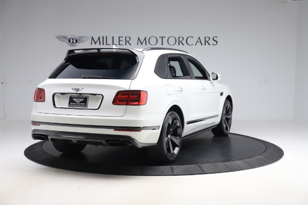 Used 2018 Bentley Bentayga Black Edition for sale $149,900 at Rolls-Royce Motor Cars Greenwich in Greenwich CT 06830 7