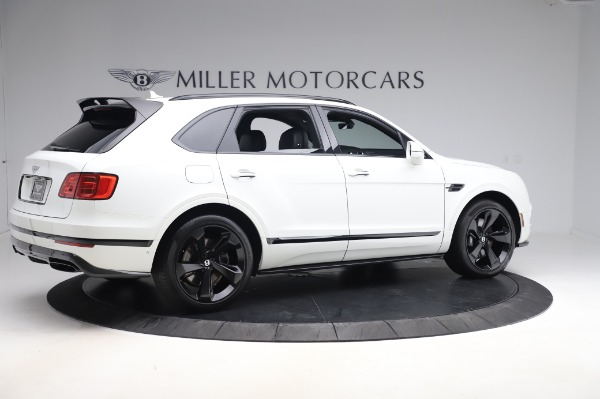 Used 2018 Bentley Bentayga Black Edition for sale $149,900 at Rolls-Royce Motor Cars Greenwich in Greenwich CT 06830 8