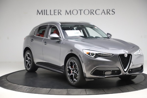 New 2020 Alfa Romeo Stelvio Ti Q4 for sale Sold at Rolls-Royce Motor Cars Greenwich in Greenwich CT 06830 12