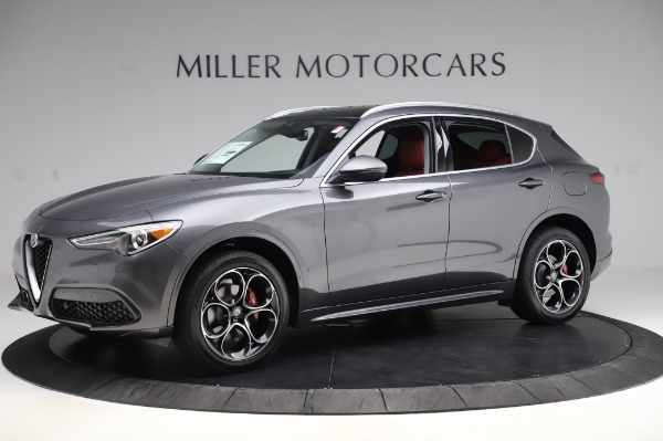 New 2020 Alfa Romeo Stelvio Ti Q4 for sale Sold at Rolls-Royce Motor Cars Greenwich in Greenwich CT 06830 3