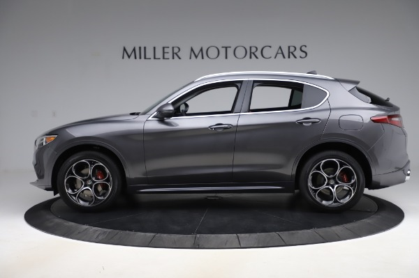 New 2020 Alfa Romeo Stelvio Ti Q4 for sale Sold at Rolls-Royce Motor Cars Greenwich in Greenwich CT 06830 4
