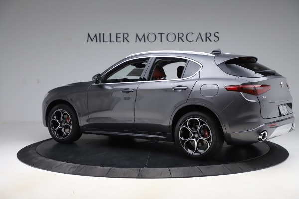 New 2020 Alfa Romeo Stelvio Ti Q4 for sale Sold at Rolls-Royce Motor Cars Greenwich in Greenwich CT 06830 5
