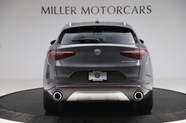 New 2020 Alfa Romeo Stelvio Ti Q4 for sale Sold at Rolls-Royce Motor Cars Greenwich in Greenwich CT 06830 7