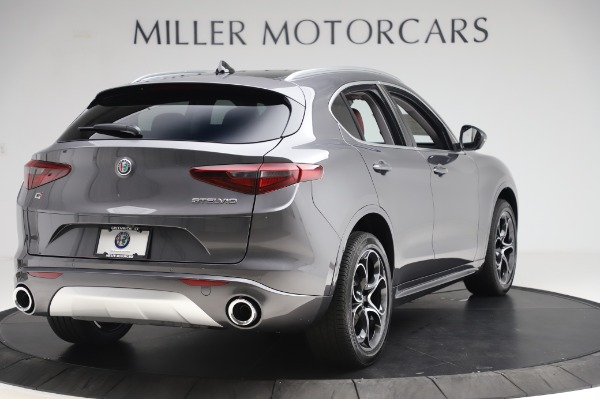 New 2020 Alfa Romeo Stelvio Ti Q4 for sale Sold at Rolls-Royce Motor Cars Greenwich in Greenwich CT 06830 8