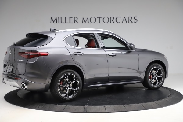 New 2020 Alfa Romeo Stelvio Ti Q4 for sale Sold at Rolls-Royce Motor Cars Greenwich in Greenwich CT 06830 9