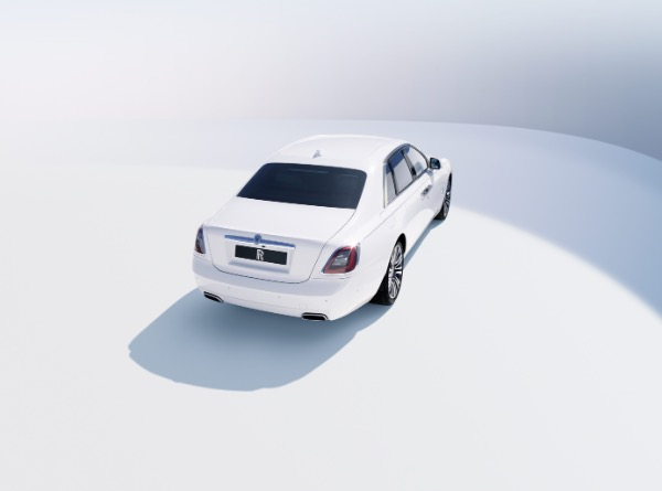 New 2021 Rolls-Royce Ghost for sale Call for price at Rolls-Royce Motor Cars Greenwich in Greenwich CT 06830 4