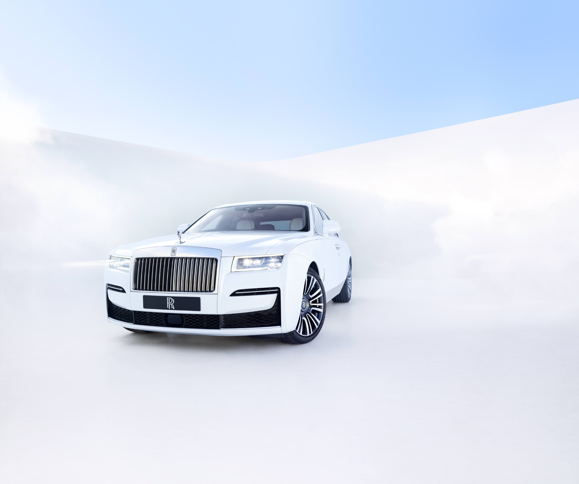 New 2021 Rolls-Royce Ghost for sale Call for price at Rolls-Royce Motor Cars Greenwich in Greenwich CT 06830 1