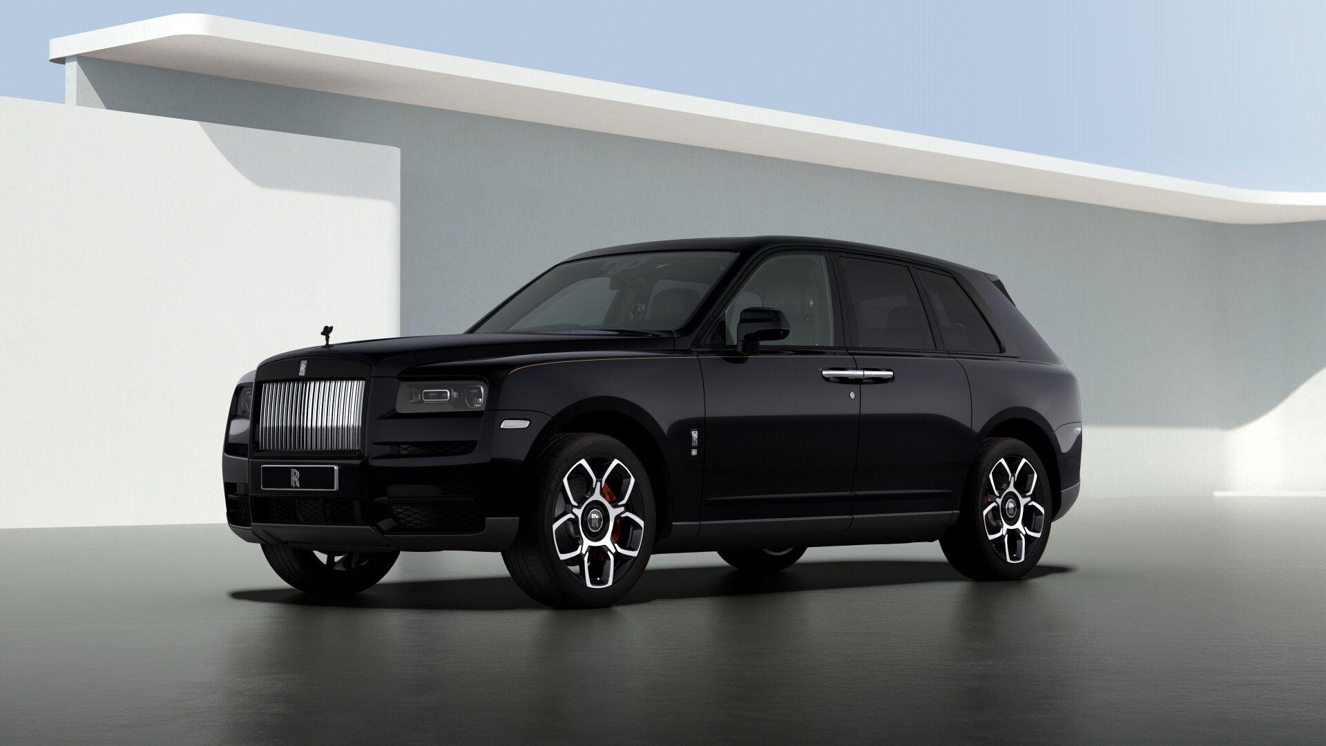 New 2021 Rolls-Royce Cullinan Black Badge for sale $439,700 at Rolls-Royce Motor Cars Greenwich in Greenwich CT 06830 1