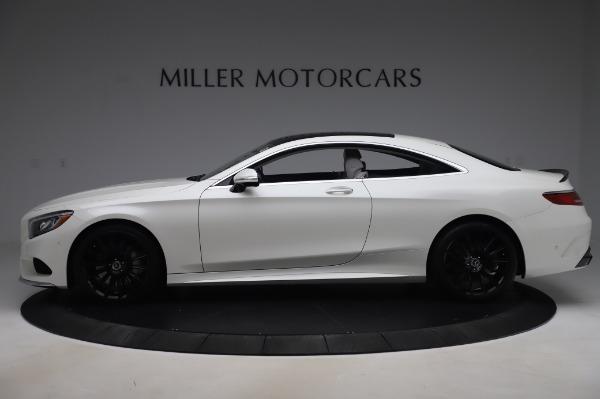 Used 2015 Mercedes-Benz S-Class S 550 4MATIC for sale Sold at Rolls-Royce Motor Cars Greenwich in Greenwich CT 06830 3