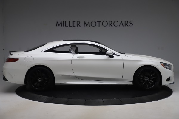 Used 2015 Mercedes-Benz S-Class S 550 4MATIC for sale Sold at Rolls-Royce Motor Cars Greenwich in Greenwich CT 06830 9