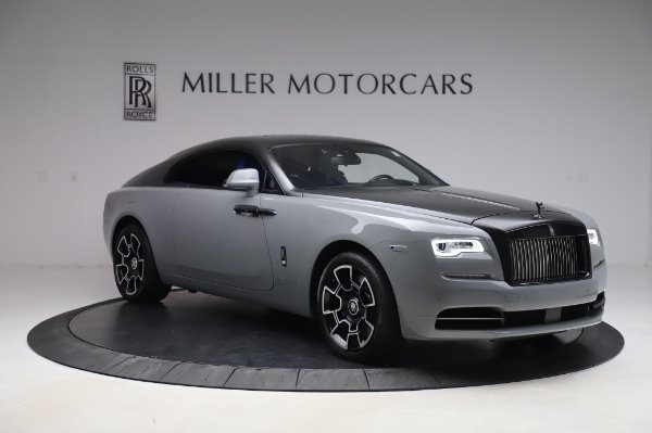 Used 2017 Rolls-Royce Wraith Black Badge for sale $269,900 at Rolls-Royce Motor Cars Greenwich in Greenwich CT 06830 10