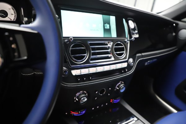 Used 2017 Rolls-Royce Wraith Black Badge for sale $269,900 at Rolls-Royce Motor Cars Greenwich in Greenwich CT 06830 21