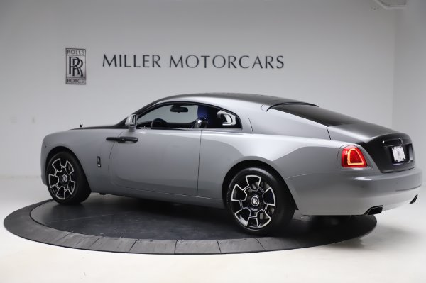 Used 2017 Rolls-Royce Wraith Black Badge for sale $269,900 at Rolls-Royce Motor Cars Greenwich in Greenwich CT 06830 5
