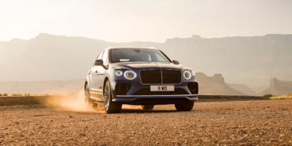 New 2021 Bentley Bentayga Speed for sale Sold at Rolls-Royce Motor Cars Greenwich in Greenwich CT 06830 3