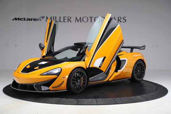 New 2020 McLaren 620R Coupe for sale Call for price at Rolls-Royce Motor Cars Greenwich in Greenwich CT 06830 10