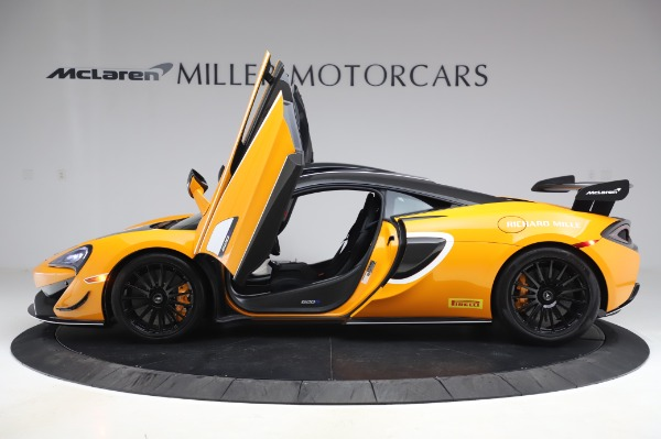 New 2020 McLaren 620R Coupe for sale Call for price at Rolls-Royce Motor Cars Greenwich in Greenwich CT 06830 11