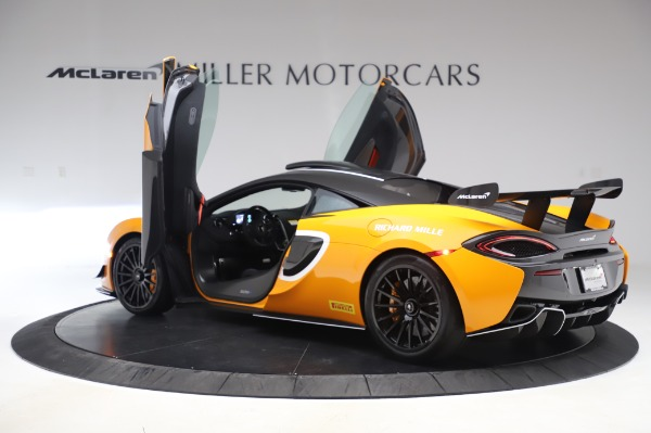 New 2020 McLaren 620R Coupe for sale Call for price at Rolls-Royce Motor Cars Greenwich in Greenwich CT 06830 12