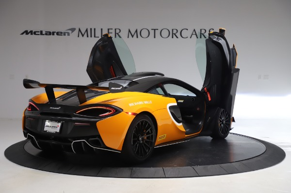 New 2020 McLaren 620R Coupe for sale Call for price at Rolls-Royce Motor Cars Greenwich in Greenwich CT 06830 14