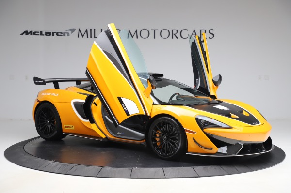 New 2020 McLaren 620R Coupe for sale Call for price at Rolls-Royce Motor Cars Greenwich in Greenwich CT 06830 16