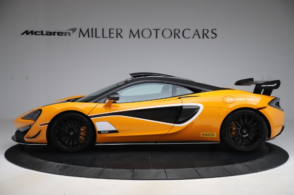 New 2020 McLaren 620R Coupe for sale Call for price at Rolls-Royce Motor Cars Greenwich in Greenwich CT 06830 2