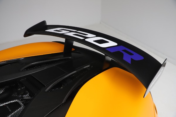New 2020 McLaren 620R Coupe for sale Call for price at Rolls-Royce Motor Cars Greenwich in Greenwich CT 06830 22
