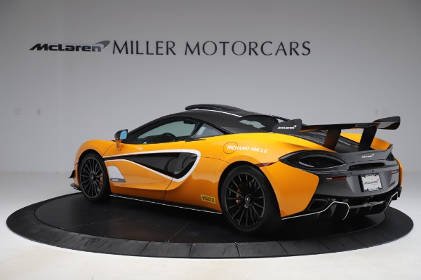 New 2020 McLaren 620R Coupe for sale Call for price at Rolls-Royce Motor Cars Greenwich in Greenwich CT 06830 3