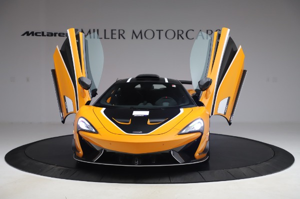 New 2020 McLaren 620R Coupe for sale Call for price at Rolls-Royce Motor Cars Greenwich in Greenwich CT 06830 9