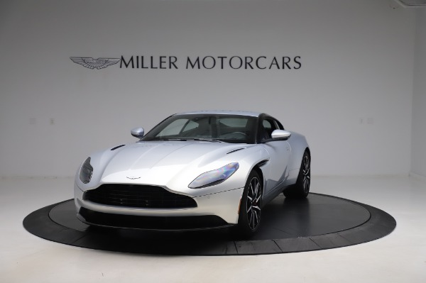 Used 2018 Aston Martin DB11 V8 Coupe for sale $147,900 at Rolls-Royce Motor Cars Greenwich in Greenwich CT 06830 12