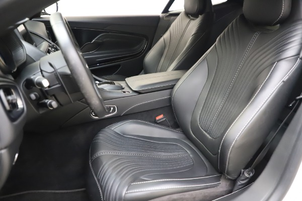 Used 2018 Aston Martin DB11 V8 Coupe for sale $147,900 at Rolls-Royce Motor Cars Greenwich in Greenwich CT 06830 15