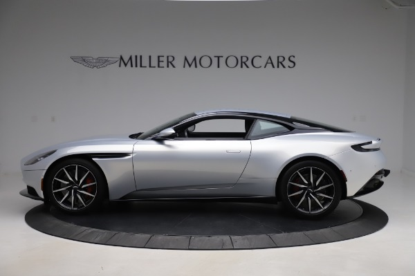 Used 2018 Aston Martin DB11 V8 Coupe for sale $147,900 at Rolls-Royce Motor Cars Greenwich in Greenwich CT 06830 2