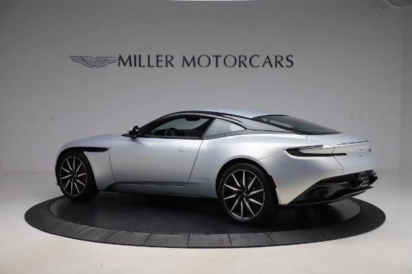 Used 2018 Aston Martin DB11 V8 Coupe for sale $147,900 at Rolls-Royce Motor Cars Greenwich in Greenwich CT 06830 3