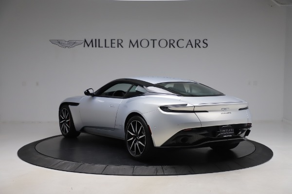 Used 2018 Aston Martin DB11 V8 Coupe for sale $147,900 at Rolls-Royce Motor Cars Greenwich in Greenwich CT 06830 4