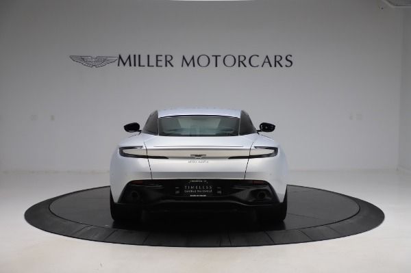 Used 2018 Aston Martin DB11 V8 Coupe for sale $147,900 at Rolls-Royce Motor Cars Greenwich in Greenwich CT 06830 5