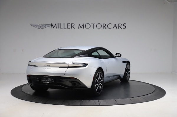 Used 2018 Aston Martin DB11 V8 Coupe for sale $147,900 at Rolls-Royce Motor Cars Greenwich in Greenwich CT 06830 6