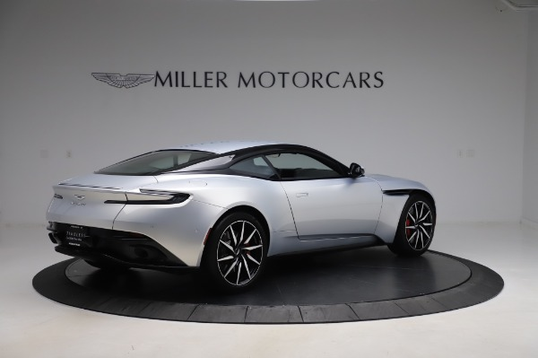 Used 2018 Aston Martin DB11 V8 Coupe for sale $147,900 at Rolls-Royce Motor Cars Greenwich in Greenwich CT 06830 7