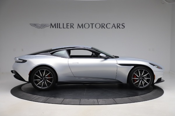 Used 2018 Aston Martin DB11 V8 Coupe for sale $147,900 at Rolls-Royce Motor Cars Greenwich in Greenwich CT 06830 8