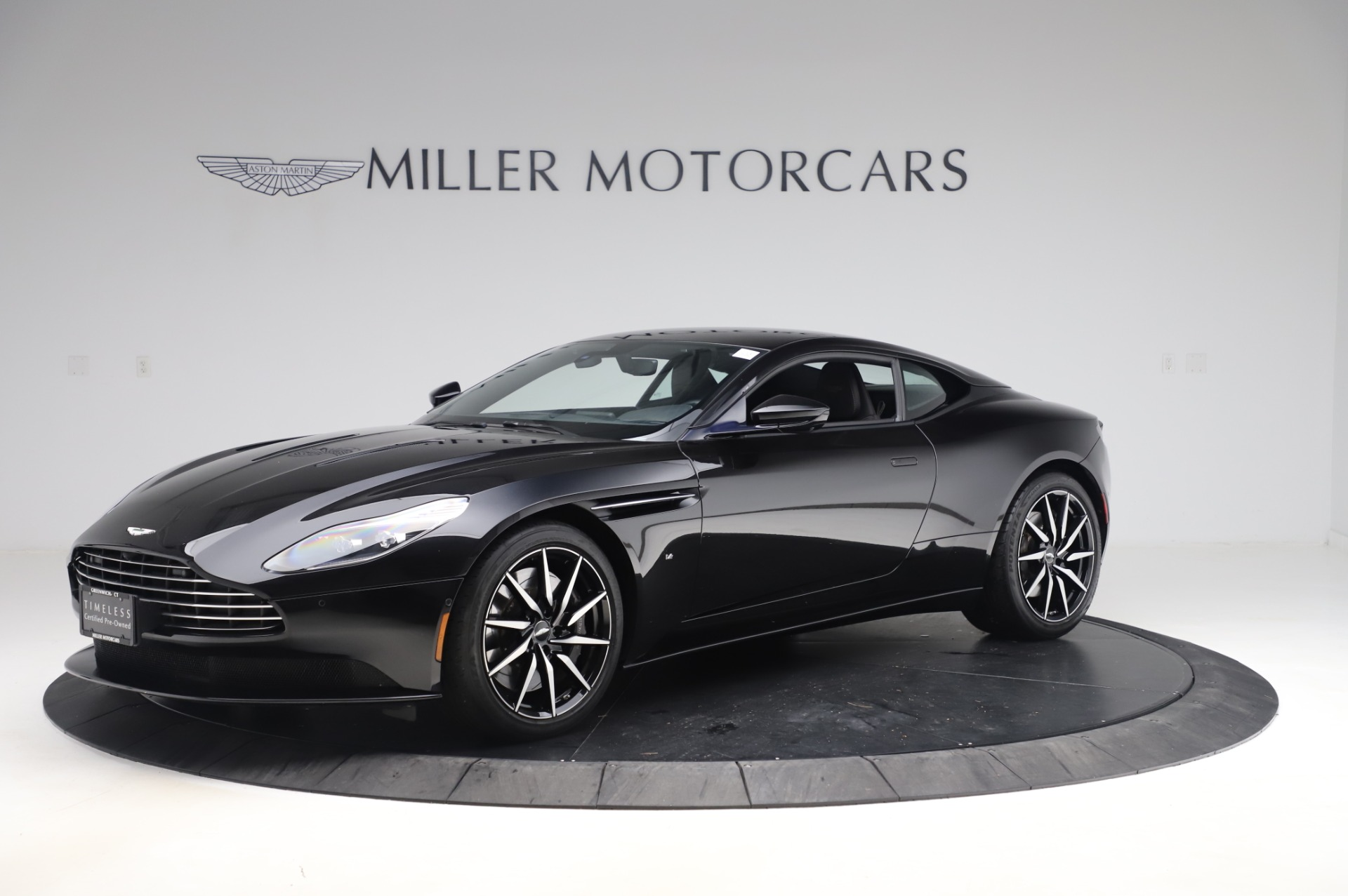 Used 2017 Aston Martin DB11 V12 Coupe for sale $145,900 at Rolls-Royce Motor Cars Greenwich in Greenwich CT 06830 1