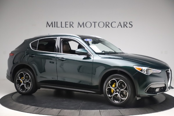 Used 2019 Alfa Romeo Stelvio Ti Lusso for sale Call for price at Rolls-Royce Motor Cars Greenwich in Greenwich CT 06830 10