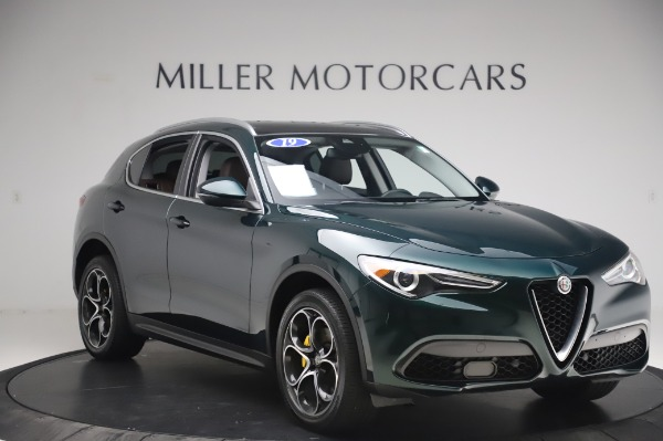 Used 2019 Alfa Romeo Stelvio Ti Lusso for sale Call for price at Rolls-Royce Motor Cars Greenwich in Greenwich CT 06830 11
