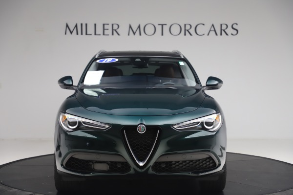 Used 2019 Alfa Romeo Stelvio Ti Lusso for sale Call for price at Rolls-Royce Motor Cars Greenwich in Greenwich CT 06830 12