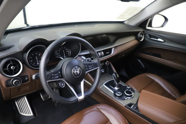 Used 2019 Alfa Romeo Stelvio Ti Lusso for sale Call for price at Rolls-Royce Motor Cars Greenwich in Greenwich CT 06830 13