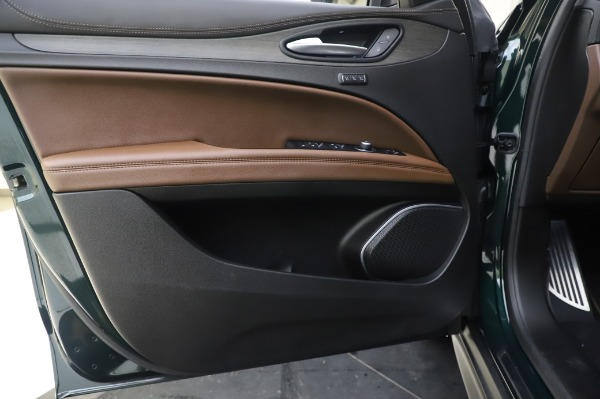 Used 2019 Alfa Romeo Stelvio Ti Lusso for sale Call for price at Rolls-Royce Motor Cars Greenwich in Greenwich CT 06830 17