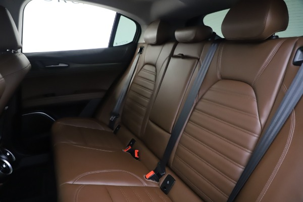 Used 2019 Alfa Romeo Stelvio Ti Lusso for sale Call for price at Rolls-Royce Motor Cars Greenwich in Greenwich CT 06830 18