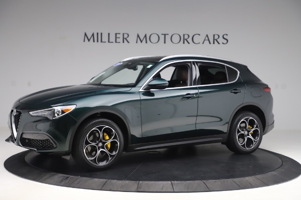 Used 2019 Alfa Romeo Stelvio Ti Lusso for sale Call for price at Rolls-Royce Motor Cars Greenwich in Greenwich CT 06830 2