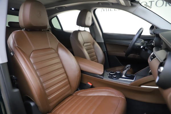 Used 2019 Alfa Romeo Stelvio Ti Lusso for sale Call for price at Rolls-Royce Motor Cars Greenwich in Greenwich CT 06830 22