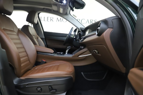 Used 2019 Alfa Romeo Stelvio Ti Lusso for sale Call for price at Rolls-Royce Motor Cars Greenwich in Greenwich CT 06830 23